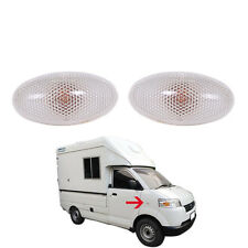 2013+ Suzuki Carry Mini Truck Side lamp Light Oval Fender lights with lamp Pair
