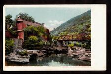 1902 studio of artist hall palenville catskill mountains new york postcard