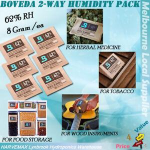 Boveda 2-Way Humidity Control 62% RH Humidipak 8g 1/2/5/10 Pack