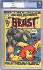 AMAZING ADVENTURES #12 - CGC 9.0 - 1972 / BEAST VS. IRON MAN
