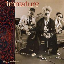 IMMATURE - Playtime Is Over (CD 1994) USA First Edition EXC  RARE Hip Hop