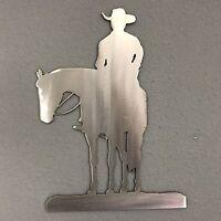 Cowboy 2 Metal Wall Decoration Skilwerx 12 x 9 Western