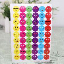 10Sheets 960Pcs Mixed Expression Smile Faces Reward Stickers For Teacher Praise