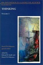 An Invitation to Cognitive Science Vol. 3 : Thinking Volume 3 (1995, Paperback)