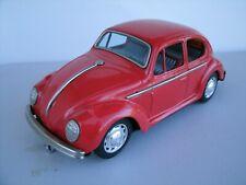 Vintage Japan Tin Litho Taiyo VW Volkswagen Beetle Battery Powered Car