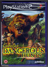 PS2 Cabela's Dangeous Hunts (2004), UK Pal, Brand New & Sony Factory Sealed