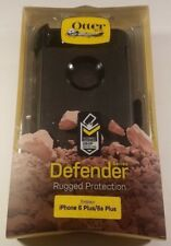 Otterbox Defender Case / Clip for iPhone 6 Plus / 6s Plus -Black- Original - New