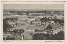 Denmark postcard - Kobenhavn, Amalienborg Slot og Havnen