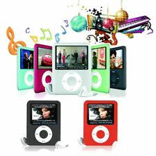 """Digital MP3 MP4 Player 1.8 """" Schermo LCD Film Radio FM Supporto TF card SD RADIO"""