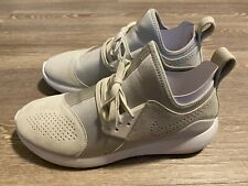 Pre-Owned Men's Nike Lunarcharge Premium Light Bone Summit White Size 11