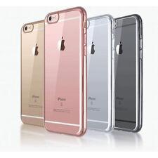 Gel Trasparente Silicone duro custodia paraurti per Apple iPhone 6 6s 7 PLUS 5