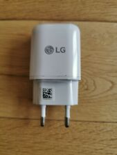 Genuine LG White EU 2Pin Travel Charger Adapter Wall Plug For LG G2 G3 G4 Nexus5