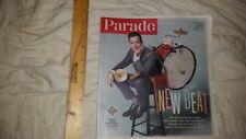 Parade Magazine February 16, 2014 Jimmy Fallon Jimmy's New Beat