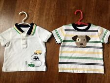 Gymboree shirt Lot Puppy Cars Polo Shirt 6-12 Months
