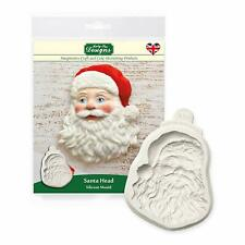 Katy Sue Santa Head Christmas Cake Sugarcraft Mould NEXT DAY DESPATCH