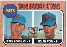 NOLAN RYAN Reprint ROOKIE CARD Insert Baseball RP RC Topps Stars METS RANGERS