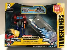 Transformers OPTIMUS PRIME Battle Base Trailer Cyberverse Energon Axe Attack