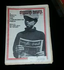 Rolling Stone Bob Dylan Issue # 43 October 4 1969 Nr Mint Codition