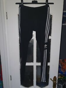 Ladies Black Adidas Leggings Size 12