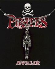 Skeleton Pewter Pendant On A Chain -  Pirates / Captain Jack Sparrow