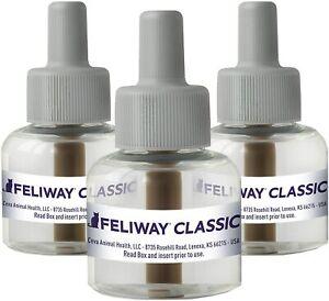 3 Pack Feliway Classic - 3 x 30 Day Refills, 48ml