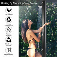 Outdoor Portable Spa Camping Solar Shower Black Color