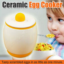 Egg Ceramic Microwave Egg Tastic Cooker and Poacher for Fast and Fluffy Eggs