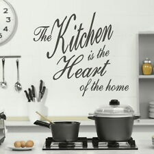 KITCHEN WALL QUOTES Removable Home Wall Transfer Interior Vinyl art Decals qu64