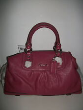 NWT Coach Ashley Leather Satchel Ginger Beet F15447 Below $498 Retail SOLD OUT!