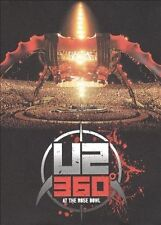 U2: 360 Degrees at the Rose Bowl (DVD, 2 disc-set, 2010) SEALED