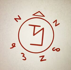 Supernatural Angel Banishing Sigil Symbol Precision Cut Vinyl Decal Castiel Dean