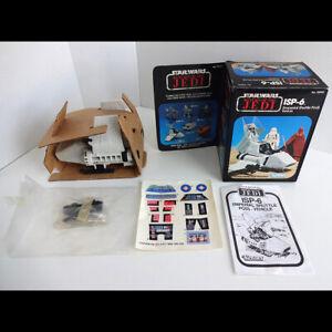 Vintage Star Wars Kenner ISP-6 Excellent Condition with unused sticker sheet