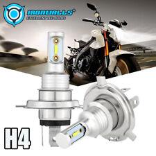 IRONWLALS H4 9003 HS1 LED Motorcycle Headlight Bulb Hi-Lo Beam 110W 6000K White