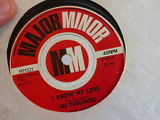 THE DUBLINERS I know my love / all for the frogg MINOR MINOR MM521