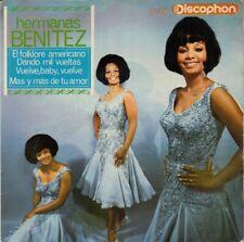 "HERMANAS BENITEZ - EL FOLKLORE AMERICANO - 7"" EP 45 DE VINILO"