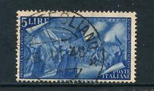 1948 - ITALIA - 5 LIRE  CENTENARIO RISORGIMENTO - USATO - LOTTO/25232