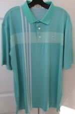 McIlhenny Dry Goods Tabasco 032 Dry Reserve Golf Polo Shirt Large Seafoam Green