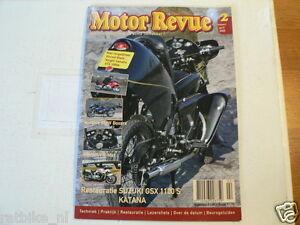 MOTOR REVUE 2005-02 POSTER  DUCATI 750 SS,VINCENT BLACK NIGHT,YAMAHA GTS 1000,