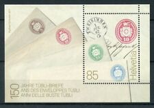Switzerland 2017 MNH Tubli Letters 150 Years 1v M/S Philately Stamps on Stamps