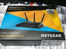 NETGEAR Nighthawk AC1750 WiFi Router Model# R6700 4 port Gigabit Ethernet FAST!