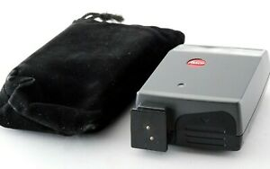 Near MINT w/Case Leica CF CF Shoe Mount Flash for Leica from Japan Ship by FedEx