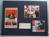 Rod Steiger & Sidney Poitier in The Heat of The Night signed by Norman Jewison