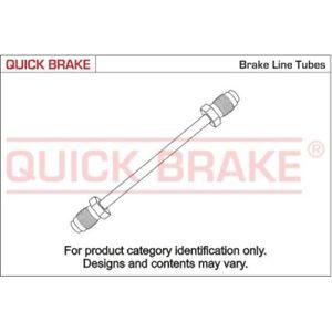 1 Conduite de frein QUICK BRAKE CN-0610A-A convient à