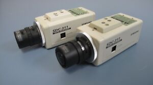 Lot of Two Samsung SDC-311 CCTV Cameras With TAMARON Lenses