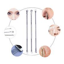 3xBlackhead Removers Tools Acne Pimple Extractor Professionals Blackhead NeedlCh