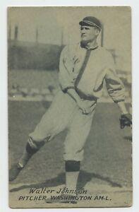 Walter Johnson HOF 1926-29 Exhibits - VG