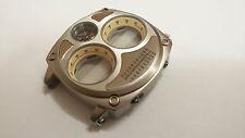 CASSA SECTOR COMPASS DUAL TIME R3251207006 CON VETRO E BUSSOLA STEEL CASE COD700