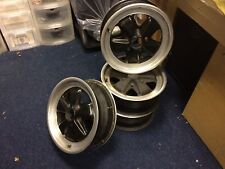 "Porsche Genuine Used Fuchs 6x16"" Front wheels 911 SC Carrera 924 944 & 968"
