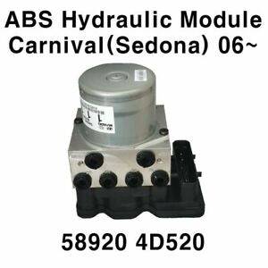 [589204D520] New OEM ABS Hydraulic Module for KIA Carnival Sedona 06+
