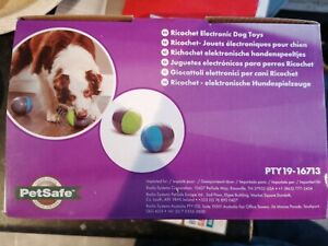 PetSafe Ricochet Electronic Dog Toys Interactive Squeaky Toy